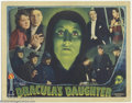"""Movie Posters:Horror, Dracula's Daughter (Universal, 1936). Lobby Card (11"""" X 14""""). Universal lobby card sets almost always included a """"montage"""" c..."""