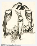 Original Illustration Art:Pin-up and Glamour Art, Peter Driben (1903-1968) Original Pin-up Art (1925-1930)..Alternate version for the pulp magazine La Paree Stories. The...