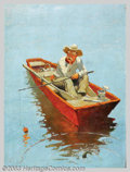 Original Illustration Art:Mainstream Illustration, James McKell (1885-1956) Original Calendar Art (1930-1940)..Published by the Joseph C. Hoover and Sons Calendar Company, Ph...