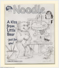 Original Illustration Art:Mainstream Illustration, Maurice Bernard Sendak - Original Magazine Cover Illustration(c.2000).. Published as cover for Nick Jr. Noodle Magazine...