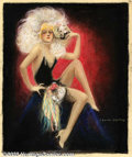 Original Illustration Art:Mainstream Illustration, Charles Gates Sheldon (1889-1960) Original Illustration(1915-1920).. Probably published as a calendar.. Pastel on paper,im...