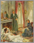 Original Illustration Art:Mainstream Illustration, Roy Frederick Spreter (1899-1967) Original Magazine StoryIllustration (c.1935).. The Ladies' Home Journal for AllThi...
