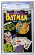 Silver Age (1956-1969):Superhero, Batman #179 (DC, 1966) CGC NM+ 9.6 Off-white to white pages....