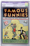 Platinum Age (1897-1937):Miscellaneous, Famous Funnies #1 (Eastern Color, 1934) CGC Apparent FN+ 6.5Moderate (P) Off-white pages....