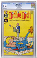 Silver Age (1956-1969):Humor, Richie Rich #1 (Harvey, 1960) CGC NM 9.4 Cream to off-white pages....