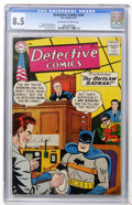 Silver Age (1956-1969):Superhero, Detective Comics #240 (DC, 1957) CGC VF+ 8.5 Off-white to white pages....