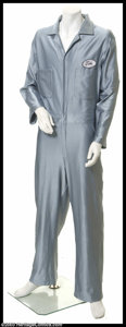 Hollywood Memorabilia:Costumes, Tim Allen - Original Television Show-Worn Costume. A highly-identifiable, custom-made stretch jumpsuit worn by Tim Allen in ...