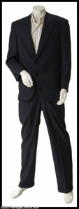 "Hollywood Memorabilia:Costumes, Johnny Depp - Screen-Worn Movie Costume from ""The Astronaut'sWife"". A completely custom-made, hand-tailored suit worn, thes..."