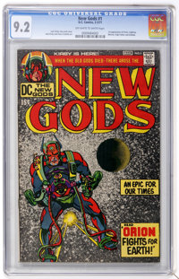 The New Gods #1 (DC, 1971) CGC NM- 9.2 Off-white to white pages