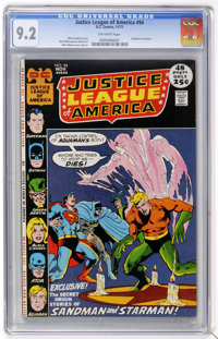 Justice League of America #94 (DC, 1971) CGC NM- 9.2 Off-white pages