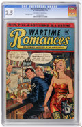 Golden Age (1938-1955):Romance, Wartime Romances #17 (St. John, 1953) CGC GD+ 2.5 Off-white towhite pages....