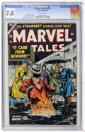 Golden Age (1938-1955):Horror, Marvel Tales #126 (Atlas, 1954) CGC FN/VF 7.0 Off-white pages....