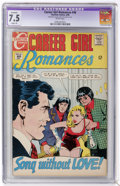 Silver Age (1956-1969):Romance, Career Girl Romances #46 (Charlton, 1968) CGC Apparent VF- 7.5Slight (A) White pages....