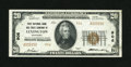 National Bank Notes:Kentucky, Lexington, KY - $20 1929 Ty. 2 First NB & TC Ch. # 906. Thiswell executed and wholly original issue shows a light corne...