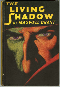 Maxwell Grant - The Living Shadow (Street & Smith, 1931) Condition: FN. Published under the Ideal Library imprint, t...