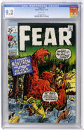 Bronze Age (1970-1979):Horror, Fear #1 (Marvel, 1970) CGC NM- 9.2 White pages....