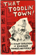 Books:First Editions, Hugh Hefner - That Toddlin' Town (Hugh Hefner, 1951). Have you everseen the cartoons of Hugh Hefner? If not, have a look at...