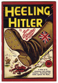 Books, Heeling Hitler by Jack Boothe (circa 1941). Staple-bound booklet ofAnti-Nazi editorial cartoons by Jack Boothe of the Van...