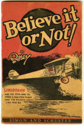 Platinum Age (1897-1937):Miscellaneous, Believe It Or Not! by Ripley #nn (Simon and Schuster, 1929)Condition: VF....