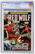 Bronze Age (1970-1979):Western, Red Wolf #6 (Marvel, 1973) CGC NM 9.4 Off-white to white pages....