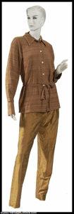 "Hollywood Memorabilia:Costumes, Faye Dunaway - Screen-Worn Movie Costume from ""Gia"". Aseldom-encountered screen-worn outfit from fan favorite actressFaye ..."