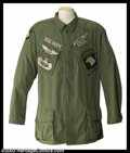 Hollywood Memorabilia:Costumes, Bob Hope - Historic Military Jacket This incredible and highly identifiable custom-embroidered official military issue jacke...