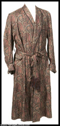 """Hollywood Memorabilia:Costumes, Anthony Perkins - Original Screen-Worn Robe from """"Edge of Sanity"""" with Photo This unique piece represents one of the only or..."""