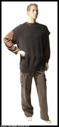 "Hollywood Memorabilia:Costumes, Arnold Schwarzenegger - Complete Screen-Worn Costume from ""End ofDays"". An intentionally distressed, complete, multi-piece ..."