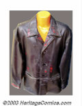 "Hollywood Memorabilia:Costumes, Arnold Schwarzenegger - Screen-Worn Movie Costumes from ""End of Days"" and ""The Sixth Day"". Offered here are two unique, cust..."