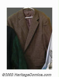 "Hollywood Memorabilia:Costumes, Arnold Schwarzenegger - Screen-Worn Costume Collection from ""True Lies"". An incredible collection of screen-worn material fr..."