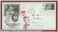 Hollywood Memorabilia:Miscellaneous, Dr. Seuss - Hand-Drawn Artwork. An extremely rare, hand-drawn sketch of Dr. Seuss' most famous character, The Cat In The Hat...