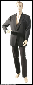 "Music Memorabilia:Costumes, Michael Jackson - ""Men In Black II"" Costume This one-of-a-kind outfit was worn by Michael Jackson in his cameo role in the m..."