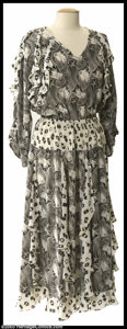 Music Memorabilia:Costumes, Stevie Nicks - Costume A gorgeous, personally-owned and worn, floor length dress which was formerly the possession of music ...