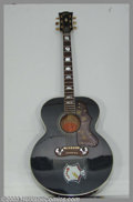 Music Memorabilia:Instruments, Elvis Presley - Personally Owned and Concert-Used Gibson Guitar.Certainly the finest and most sought after Elvis Presley in...