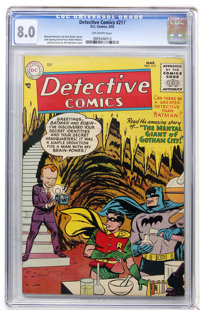 Detective Comics #217 (DC, 1955) CGC VF 8.0 Off-white pages