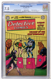 Detective Comics #203 (DC, 1954) CGC VF- 7.5 Off-white pages