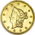 California Fractional Gold, 1852 50C Liberty Round 50 Cents, BG-427, Low R.6, MS63 NGC....