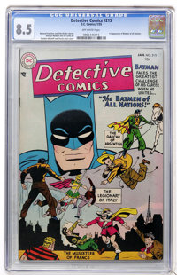 Detective Comics #215 (DC, 1955) CGC VF+ 8.5 Off-white pages