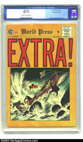 Golden Age (1938-1955):Crime, Extra! #4 Gaines File pedigree 1/12 (EC, 1955) CGC NM- 9.2 Cream to off-white pages. EC's days of publishing comic books wer...