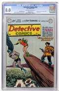 Golden Age (1938-1955):Superhero, Detective Comics #202 (DC, 1953) CGC VF 8.0 Off-white to white pages....
