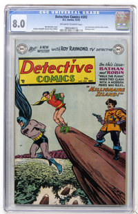 Detective Comics #202 (DC, 1953) CGC VF 8.0 Off-white to white pages