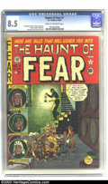 Golden Age (1938-1955):Horror, The Haunt of Fear #7 (EC, 1951) CGC VF+ 8.5 Cream to off-whitepages. EC was known for its gruesome and horrific art, and th...