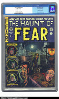 Golden Age (1938-1955):Horror, The Haunt of Fear #12 Gaines File pedigree (EC, 1952) CGC NM+ 9.6Off-white to white pages. Overstreet denotes this Graham I...
