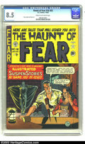 Golden Age (1938-1955):Horror, The Haunt of Fear #16 (#2) (EC, 1950) CGC VF+ 8.5 Cream tooff-white pages. The Old Witch, the ghoulish hostess of Haunt o...