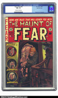 Golden Age (1938-1955):Horror, The Haunt of Fear #20 Gaines File pedigree 2/11 (EC, 1953) CGC NM+9.6 Off-white to white pages. The detail on this Graham I...