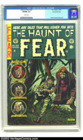 Golden Age (1938-1955):Horror, The Haunt of Fear #23 Gaines File pedigree 1/12 (EC, 1954) CGCVF/NM 9.0 White pages. Graham Ingels strikes terror in the he...