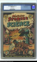 Golden Age (1938-1955):Non-Fiction, Picture Stories from Science #1 Gaines File Copy 4/11 (EC, 1947)VF/NM 9.0 Off-white to white pages. This first scientific i...