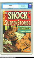 Golden Age (1938-1955):Horror, Shock SuspenStories #12 Gaines File pedigree (EC, 1953) CGC VF/NM9.0 White pages. This is the classic drug addiction co...
