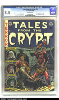 Golden Age (1938-1955):Horror, Tales From the Crypt #31 (EC, 1952) CGC VF+ 8.5 Off-white pages.This issue is notable for Al Williamson's first work at EC....