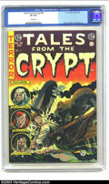 Golden Age (1938-1955):Horror, Tales From the Crypt #45 (EC, 1954) CGC VF 8.0 White pages. Couldanything be more horrifying than being cast adrift at ...